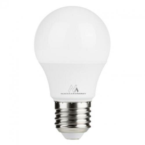 LED-lamp E27 9W 230V Maclean Energy MCE273 WW warmwit 3000K