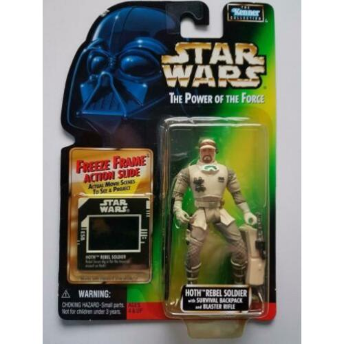 -40% Star Wars POTF FF Hoth Rebel Soldier (Marie variant)